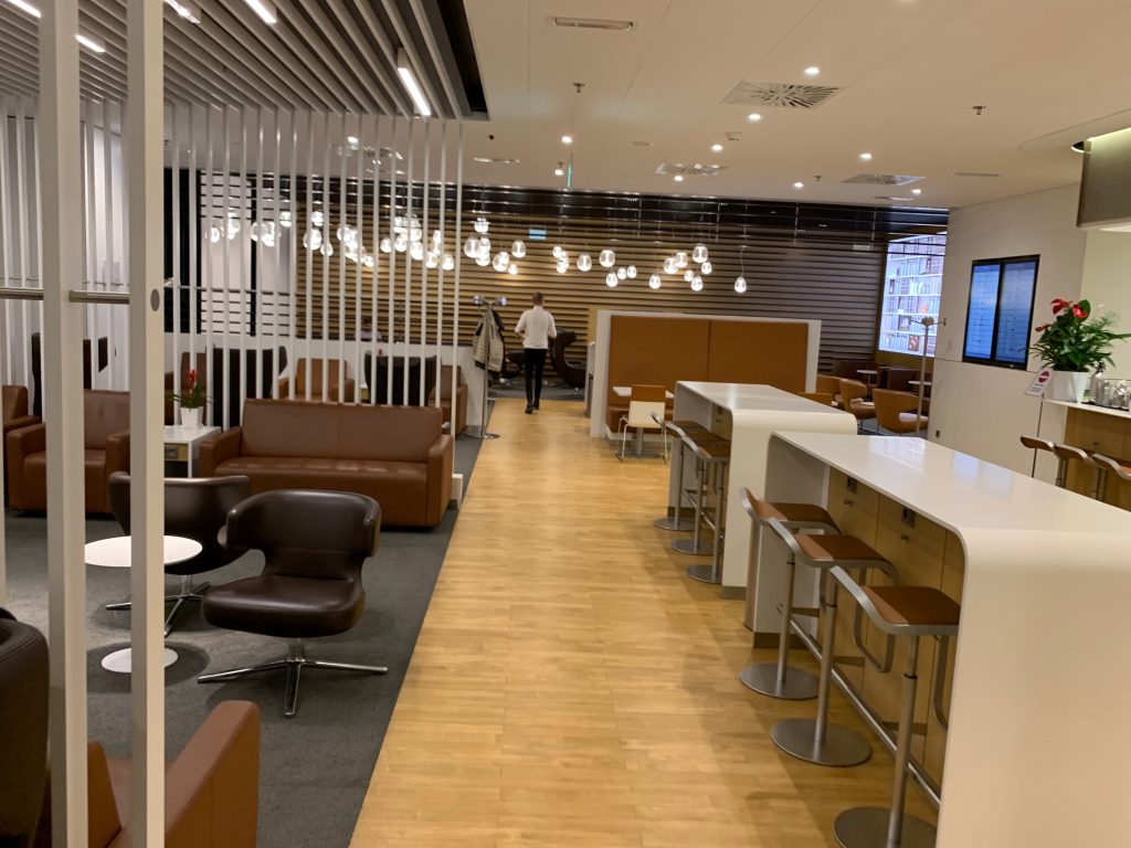 Lufthansa Lounge in Mailand