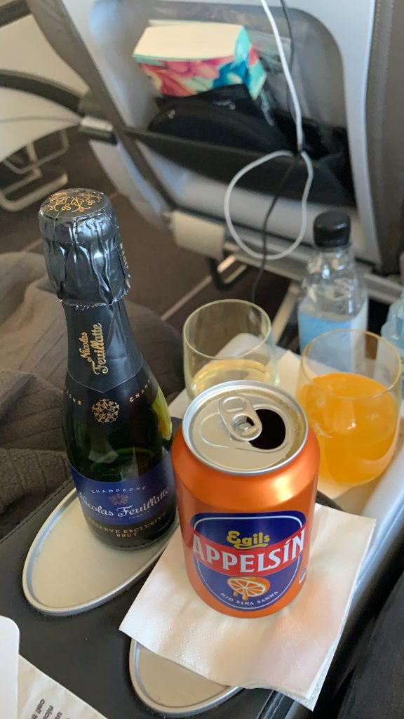 Nach Island mit Icelandair - In der Business Class