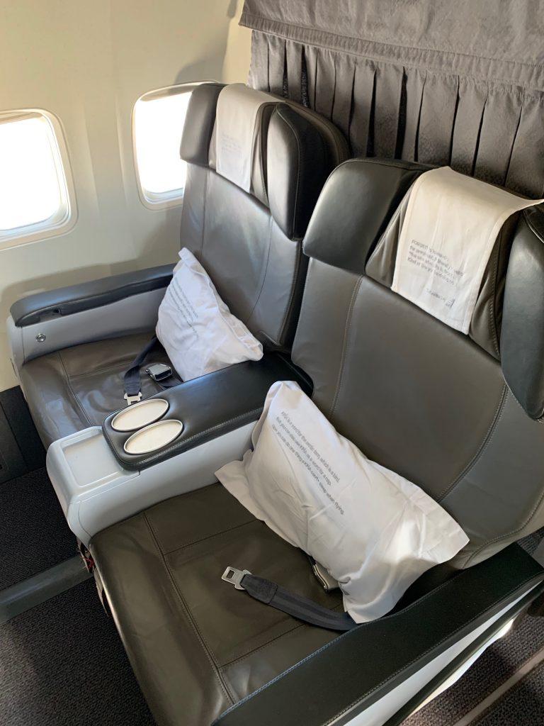 Nach Island mit Icelandair - In der Business Class