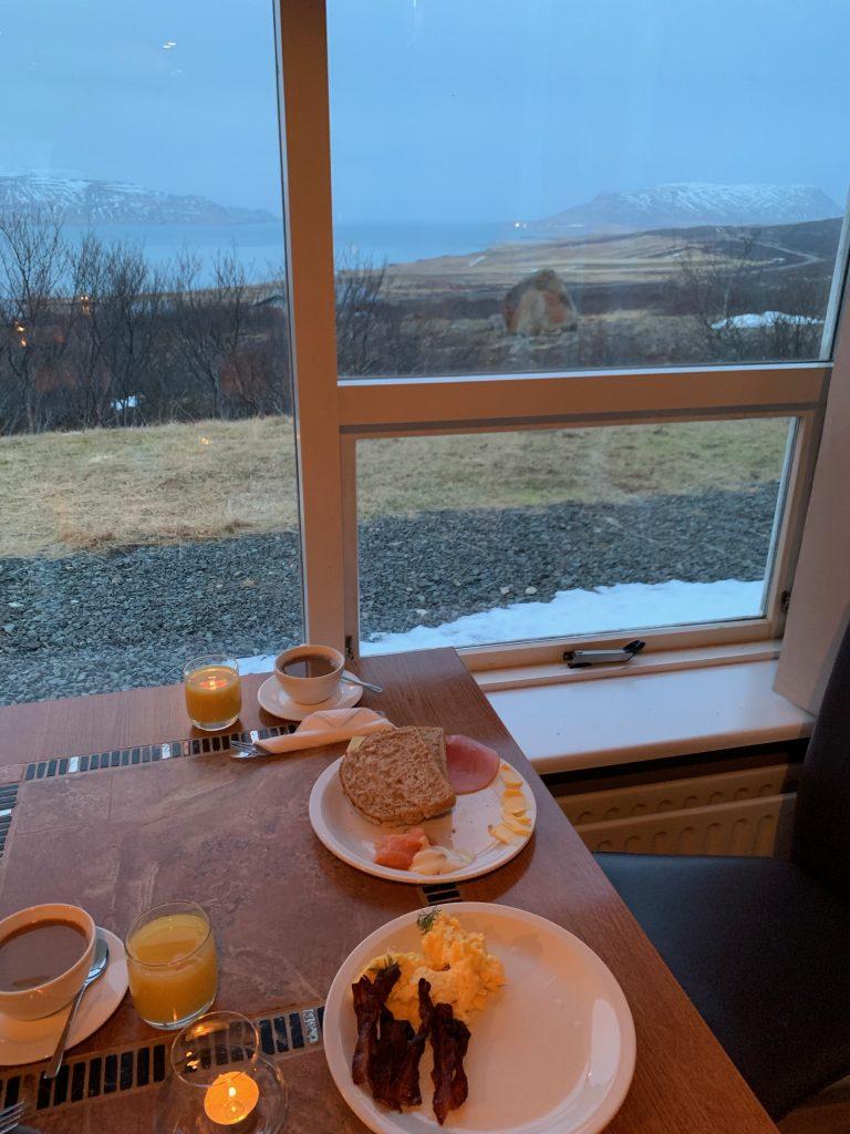 Hotel Glymur - Frühstücksbüffet