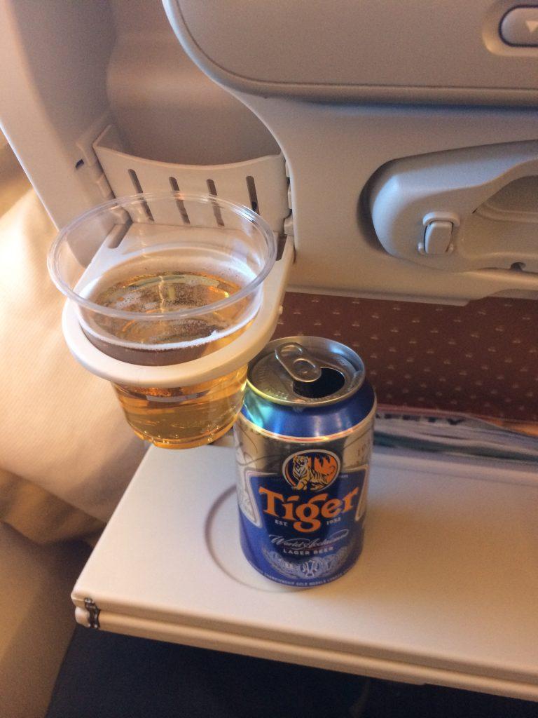 Frankfurt nach Singapur im A380