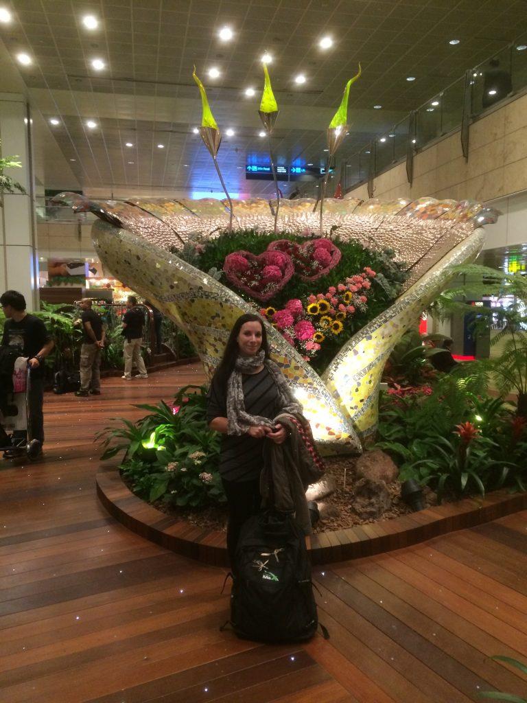 Frankfurt nach Singapur im A380 Economy Class
