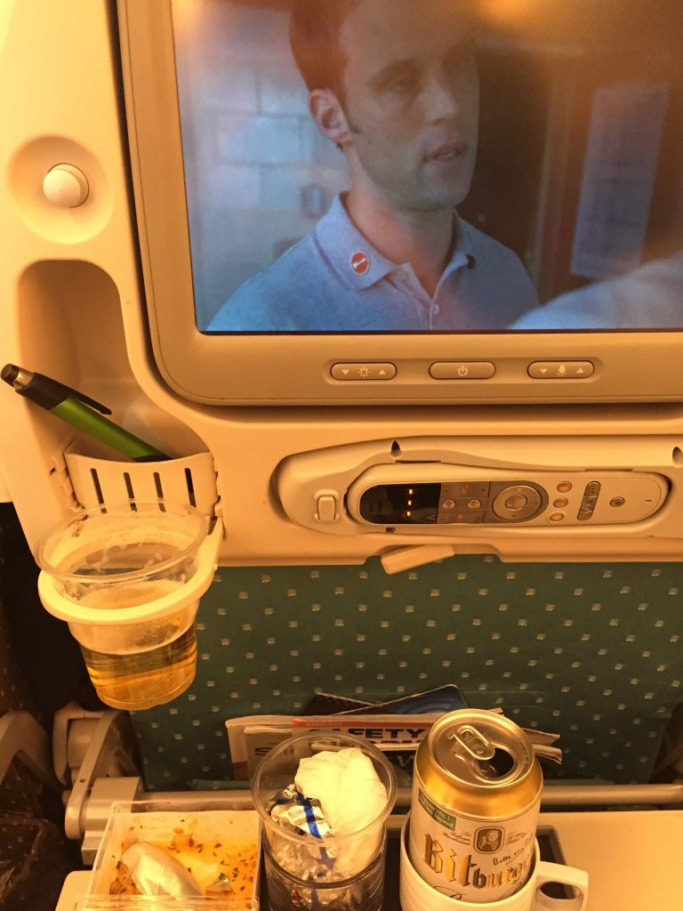 Singapore Airlines nach New York