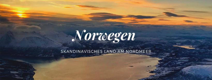 Norwegen das skandinavisches Land am Nordmeer