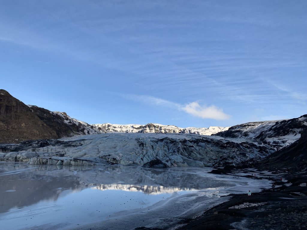 solheimajökull im Februar 2019 - TOP Highlights in Island -Golden Circle und Südküste-