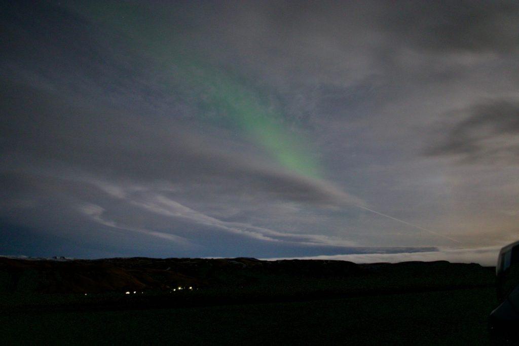 Wie könnte man in den Genuss kommen, Nordlichter zu sehen?