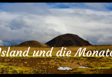 Island und die Monate