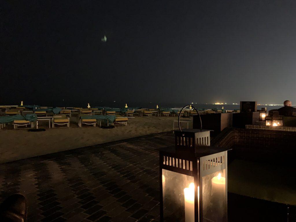 Hilton Doha - Alkohol auch an der Sgrandbar am Abend