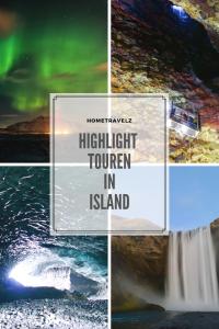 Highlight Touren in Island Pinterest