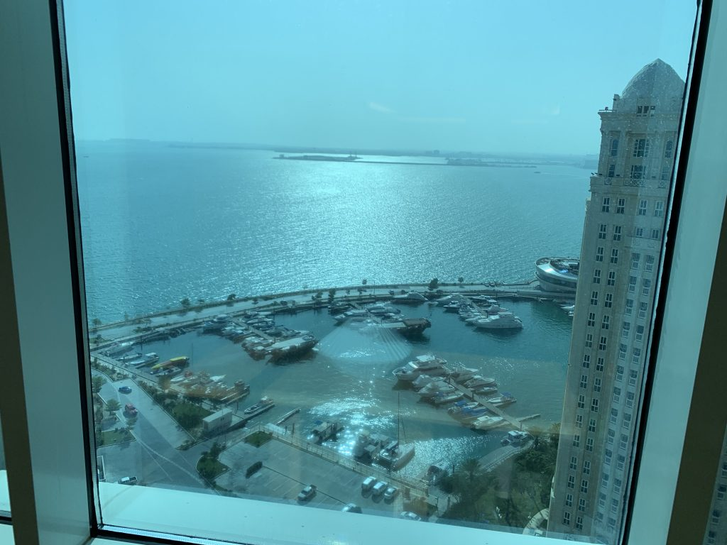 Hilton Doha Aussicht 18 Stock
