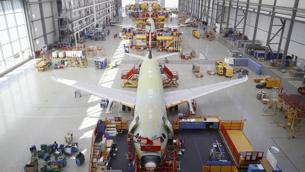 Hamburg Finkenwerder Airbus Werksführung