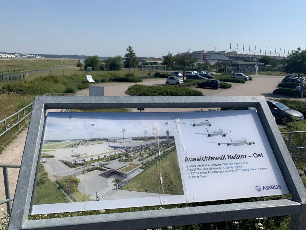 Airbus Werksführung Hamburg Finkenwerder