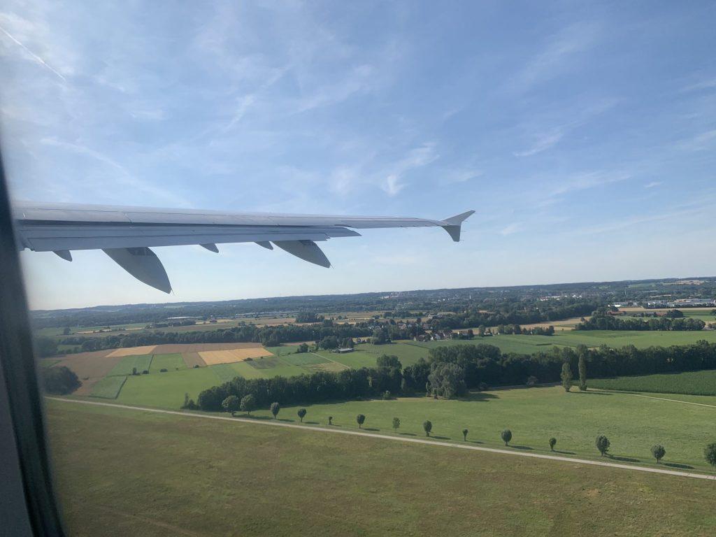 Lufthansa Economy nach Köln von München