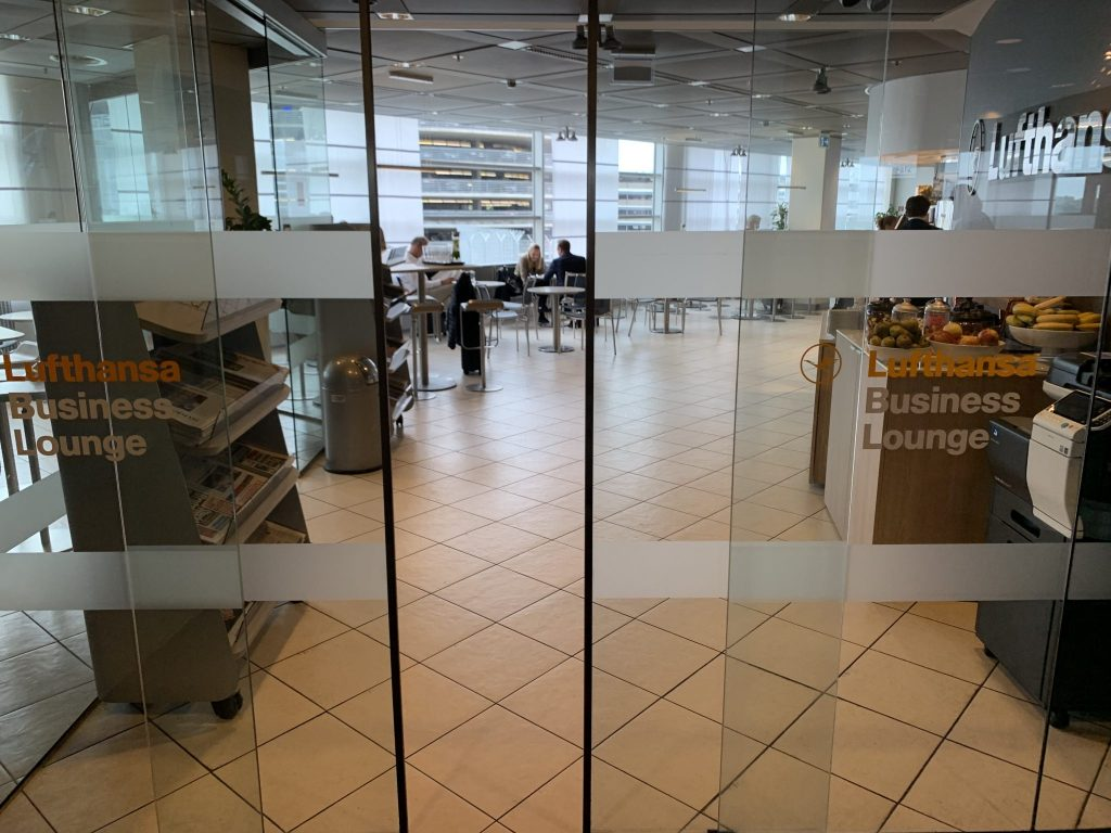 Lufthansa Business Lounge Hamburg