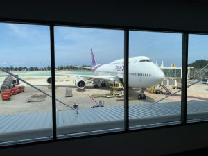 Thai Airways 747 Business Class von Bangkok nach Phuket