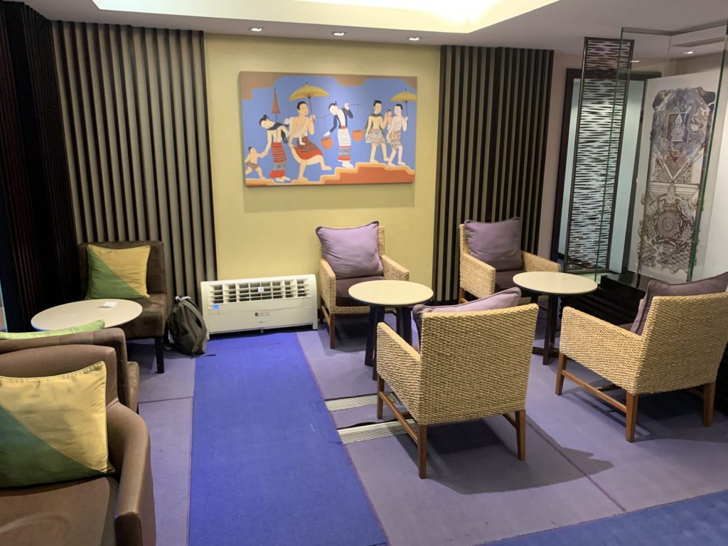 Thai Airways Royal Silk domestic Lounge in Bangkok