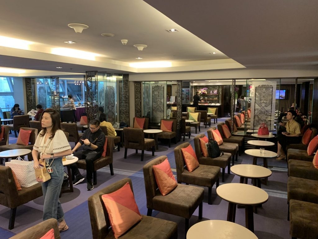 Thai Airways Royal Silk domestic Lounge in Bangkok