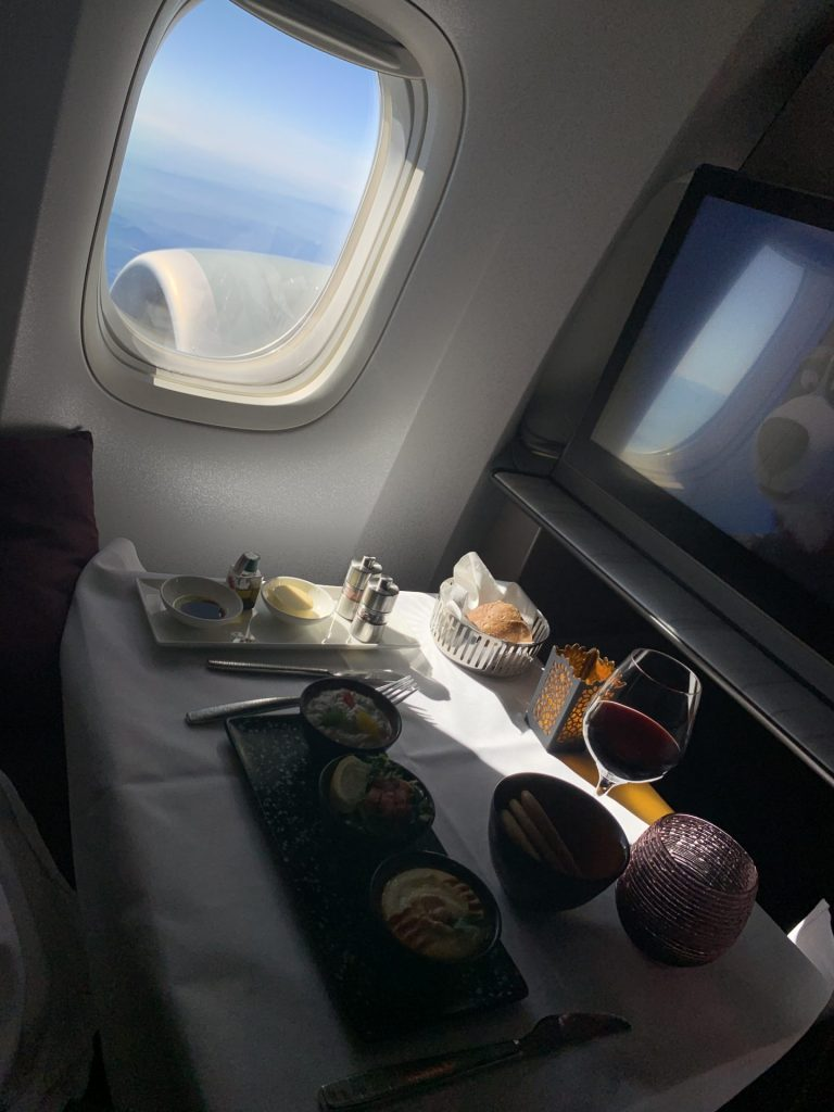 QSuite Qatar Airways ab Frankfurt