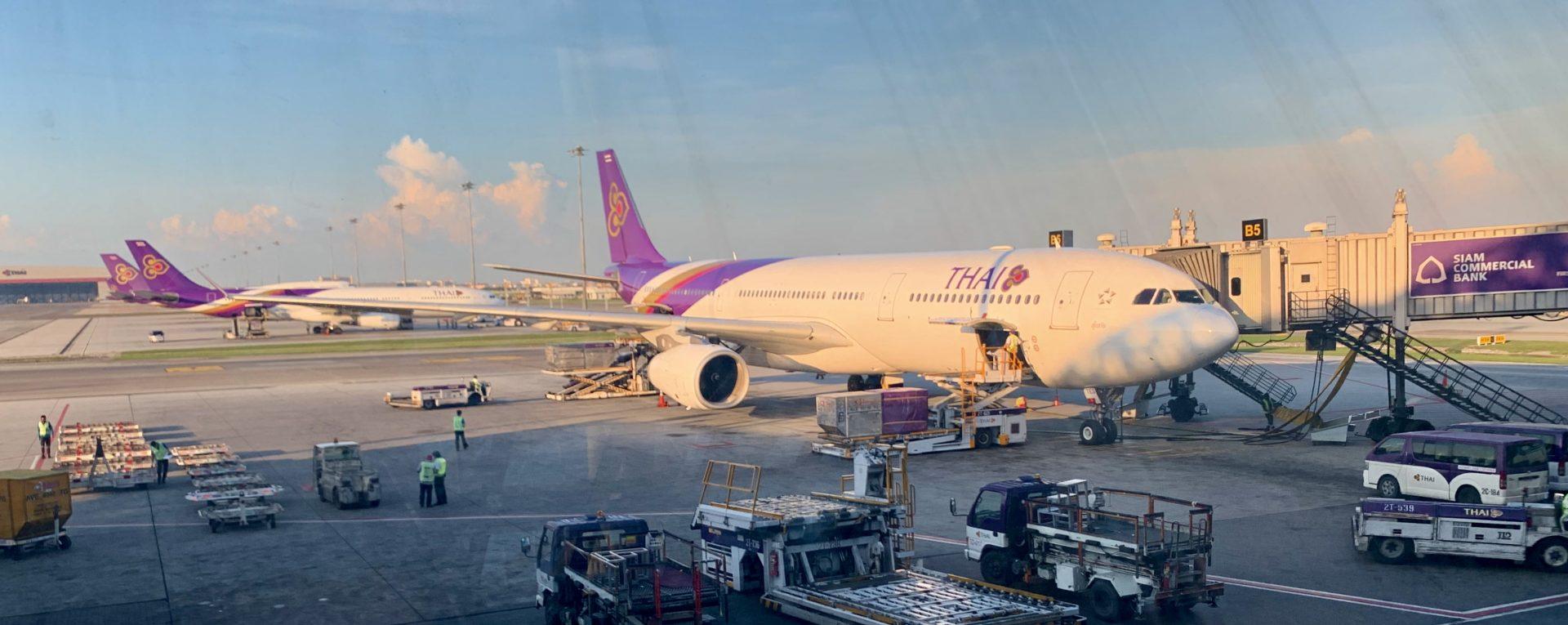 Thai Airways Domestic Business Class im A330