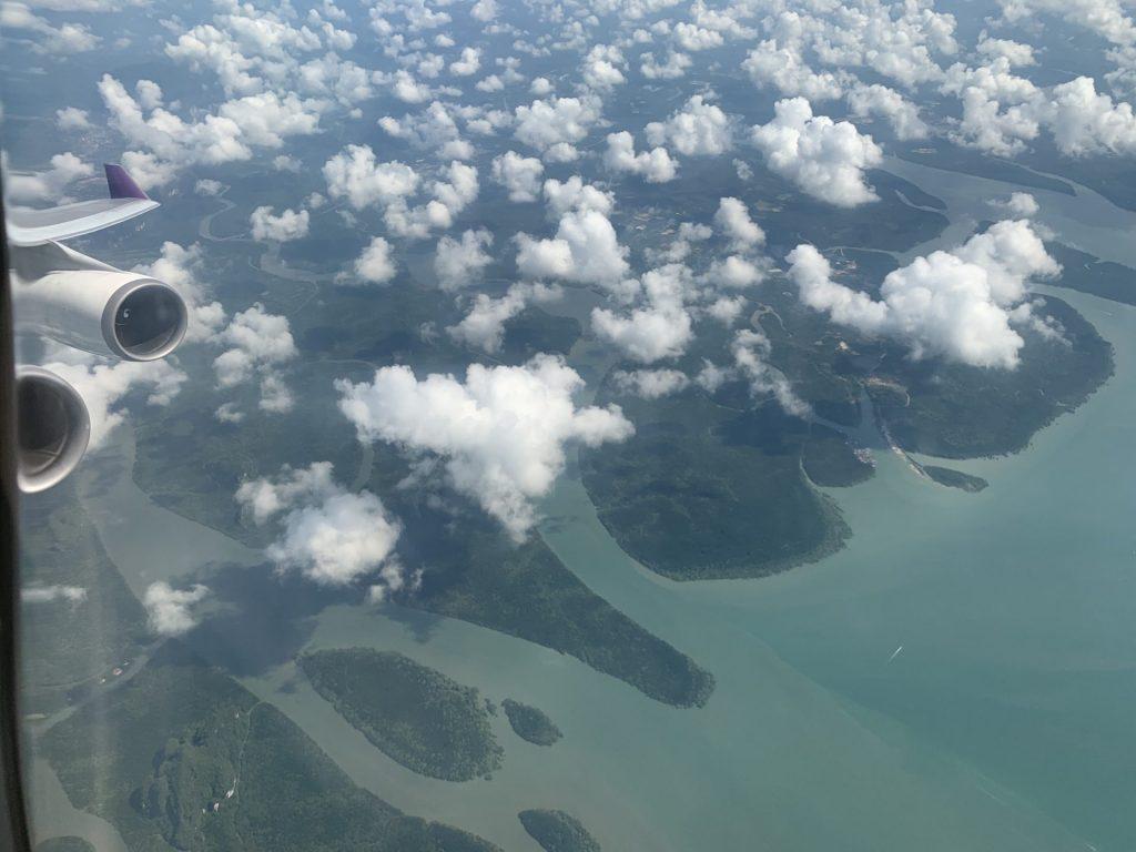 Thai Airways 747 Business Class von Bangkok nach Phuket