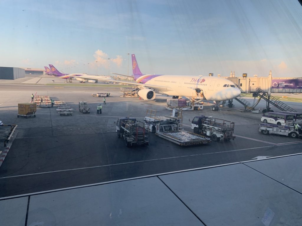 Thai Airways A330 domestic Business Class von Phuket nach Bangkok