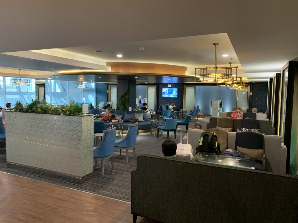 Bangkok Airways domestic Lounge Bangkok