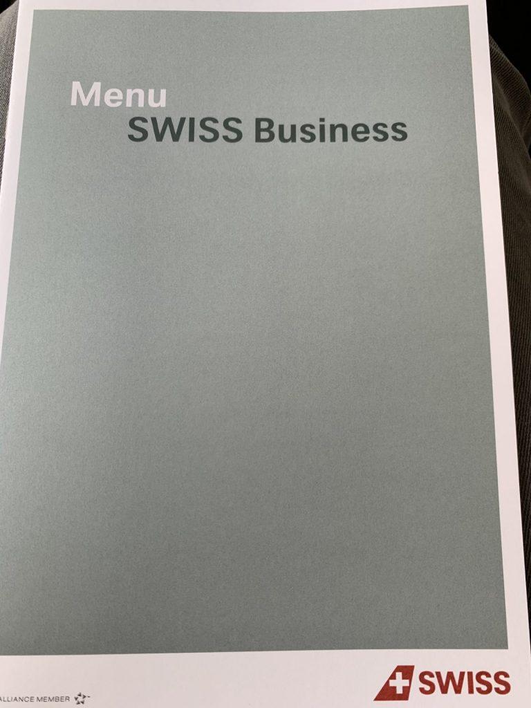 Swiss Business Class von Bangkok nach Zürich