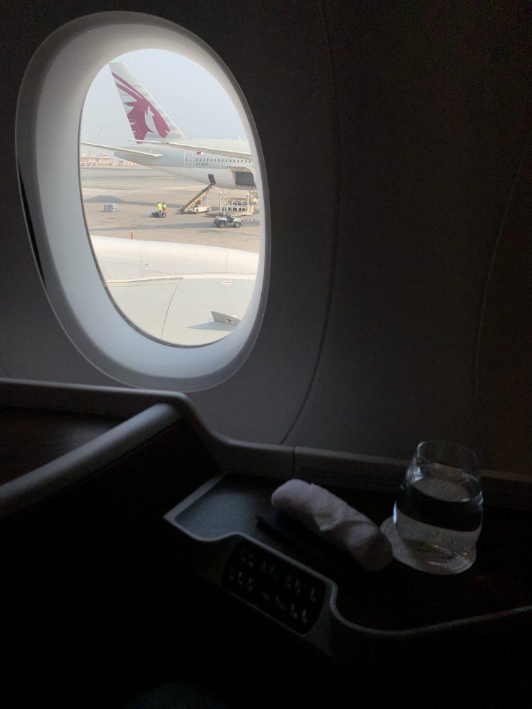 Qatar Airways von Doha nach Bangkok im A350