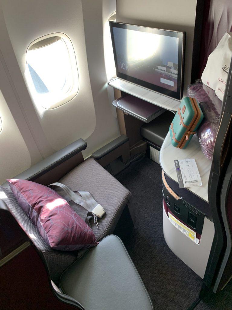 QSuite Qatar Airways ab Frankfurt