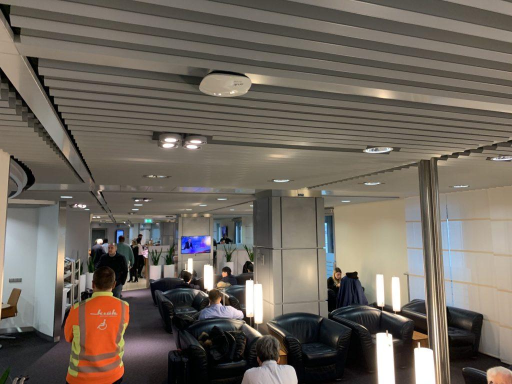 Lufthansa Senator Lounge in Düsseldorf