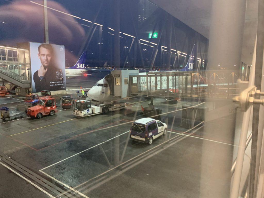 SAS von Oslo nach Tromsø