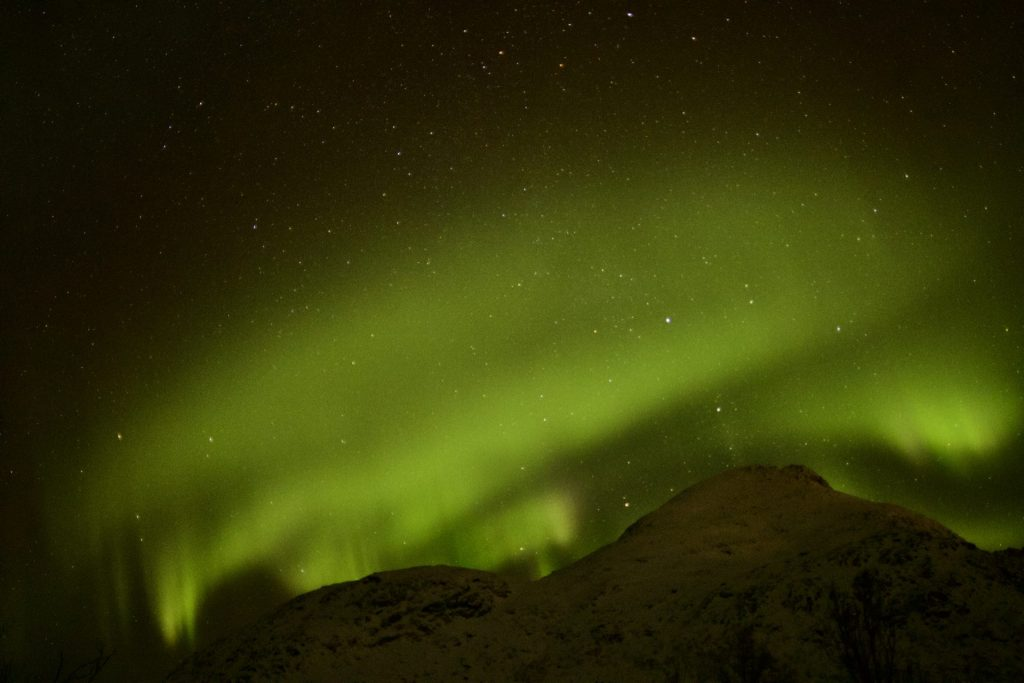Unbeschreibliche Nordlichter in Sommarøy Troms