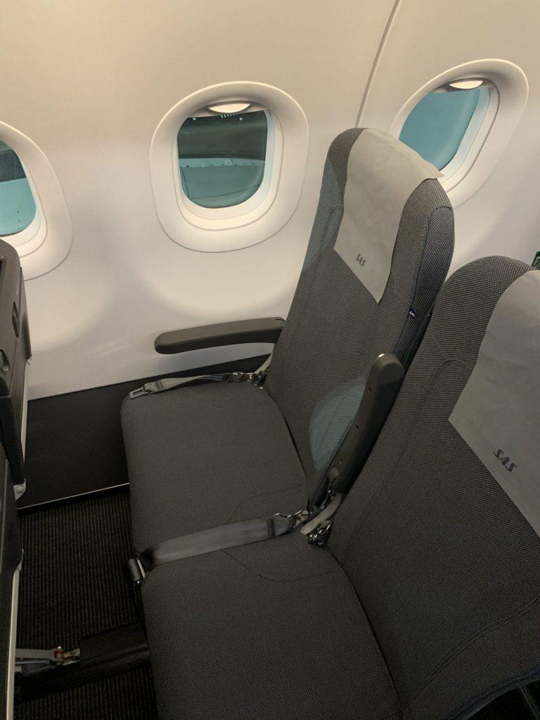 SAS A320neo im neuen Livery von Stockholm nach Kopenhagen