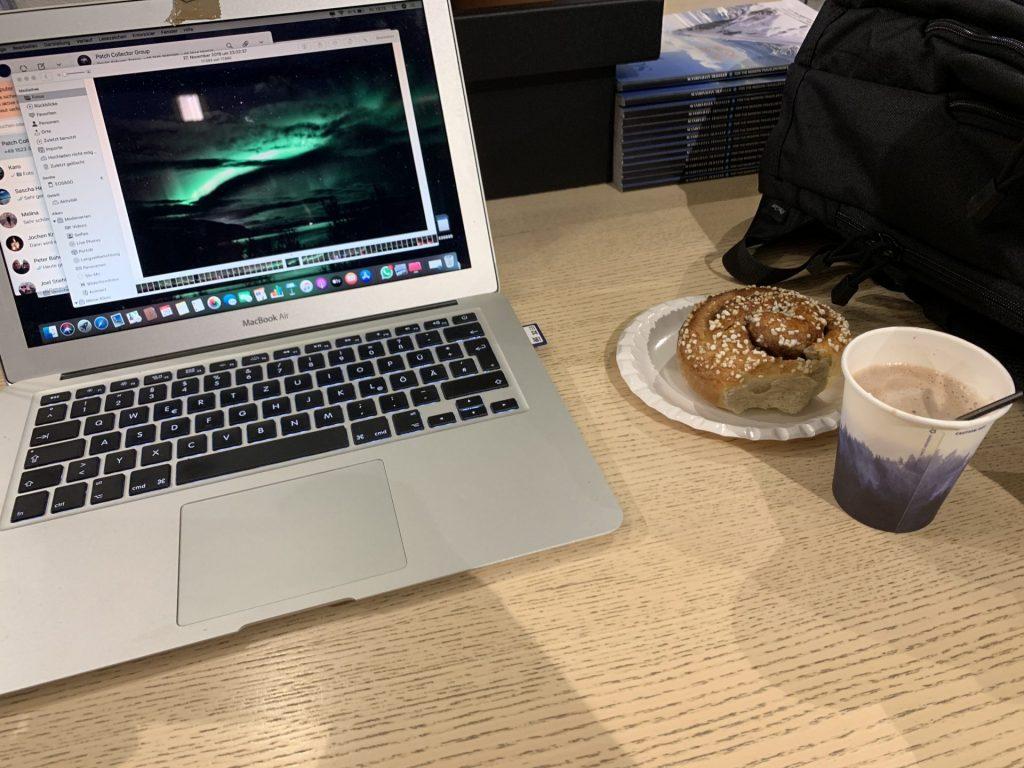 SAS Flug von Tromsø nach Oslo