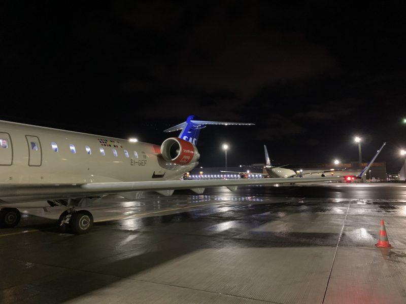 SAS CRJ900 von Kopenhagen