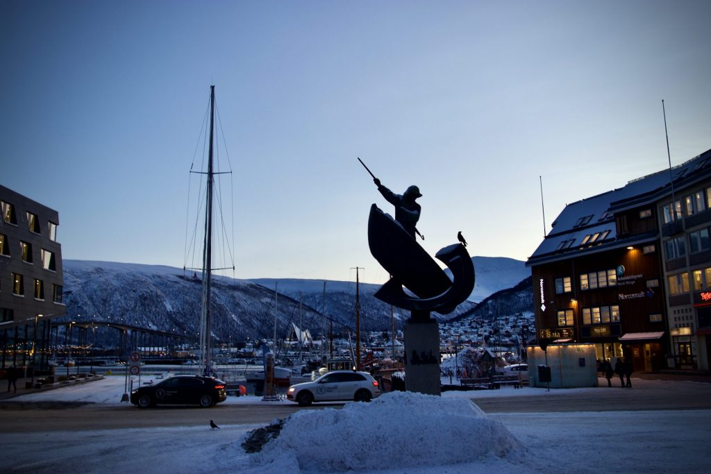 Die Polarnacht in Tromsø
