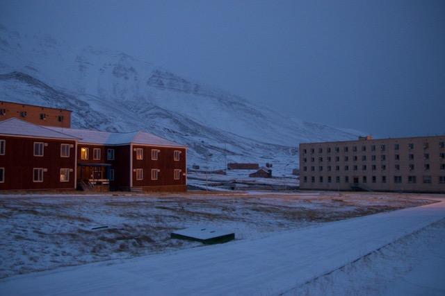 Die Geisterstadt Pyramiden in Spitzbergen - Lost Place