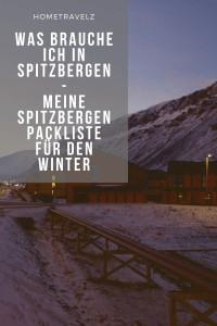 Was brauche ich in Spitzbergen - Meine Spitzbergen Packliste für den Winter