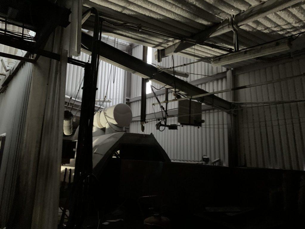 Kohlemine in Grube 3 in Spitzbergen