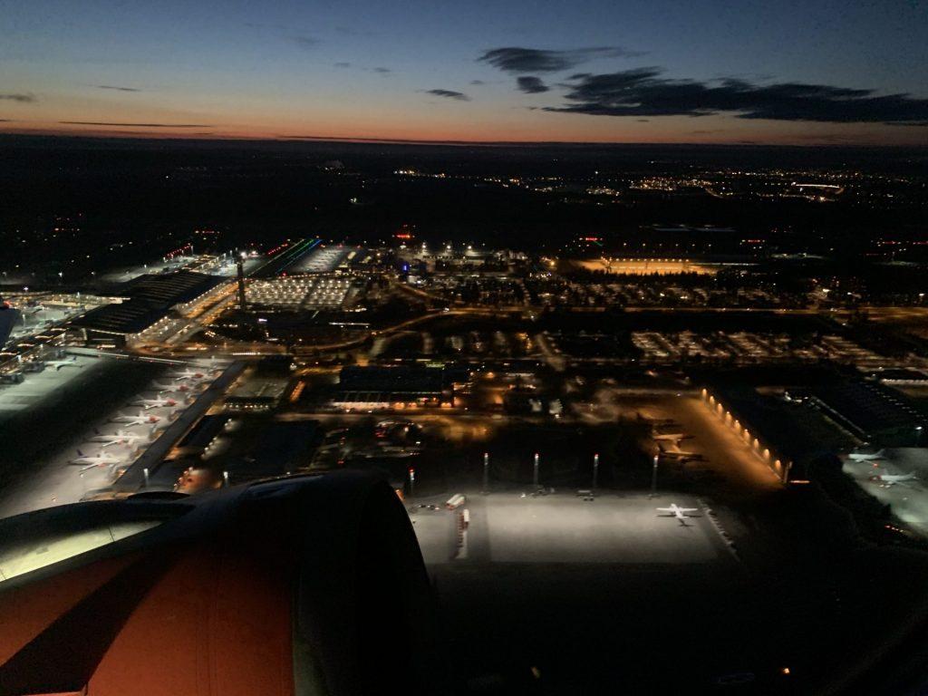 SAS Oslo nach Kopenhagen