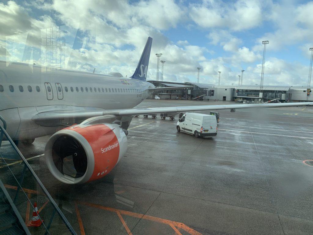 Kopenhagen nach Frankfurt mit SAS Plus