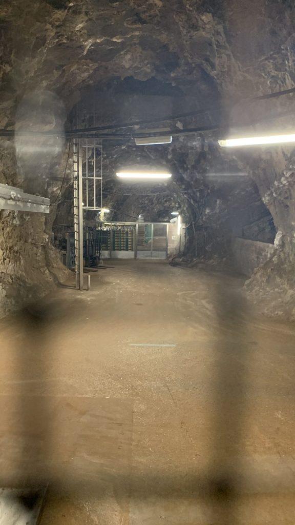 Die Kalksteinminen Daugbjerg und Mønsted