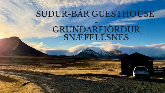Sudur-Bár Guesthouse Grundarfjörður Snæfellsnes