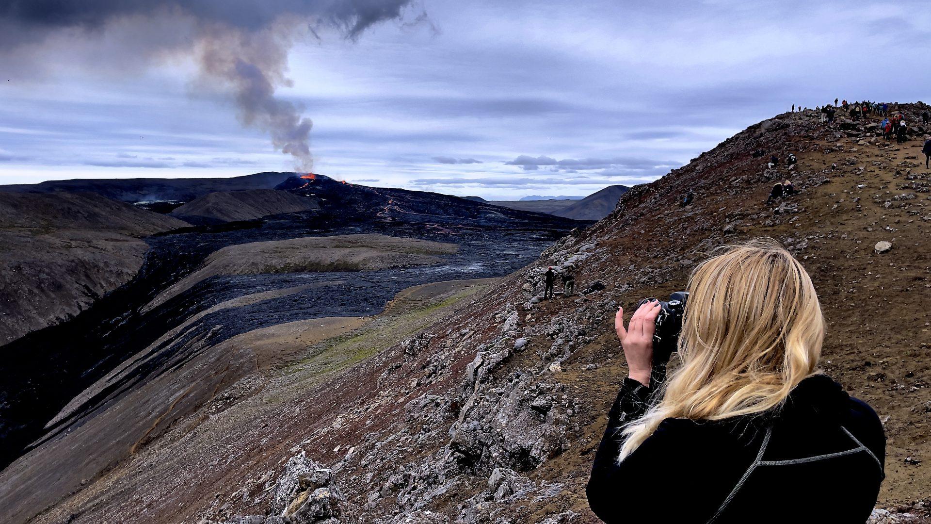 Fagradalsfjall - Der neue Vulkan in Island