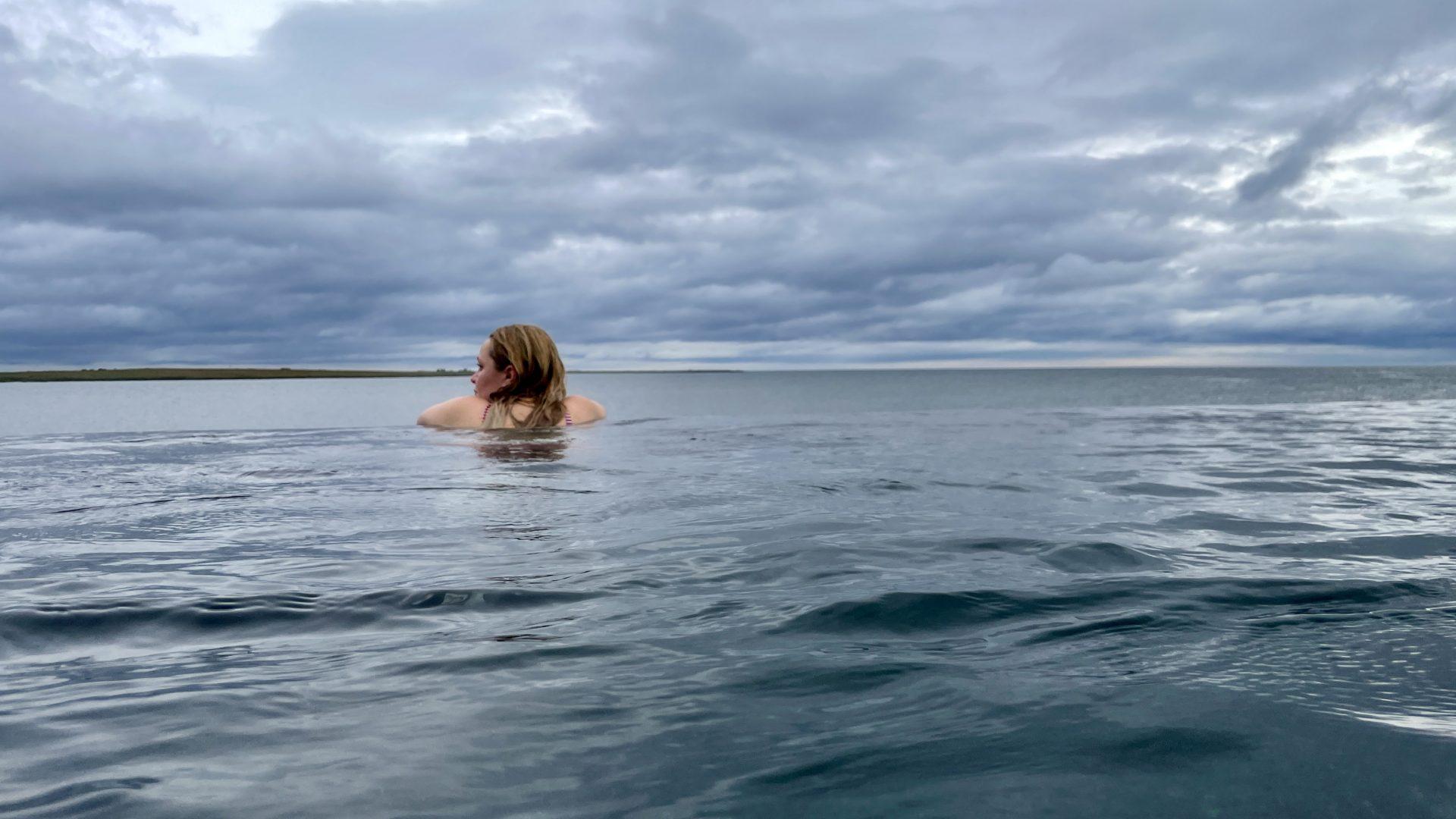 Sky Lagoon in Island