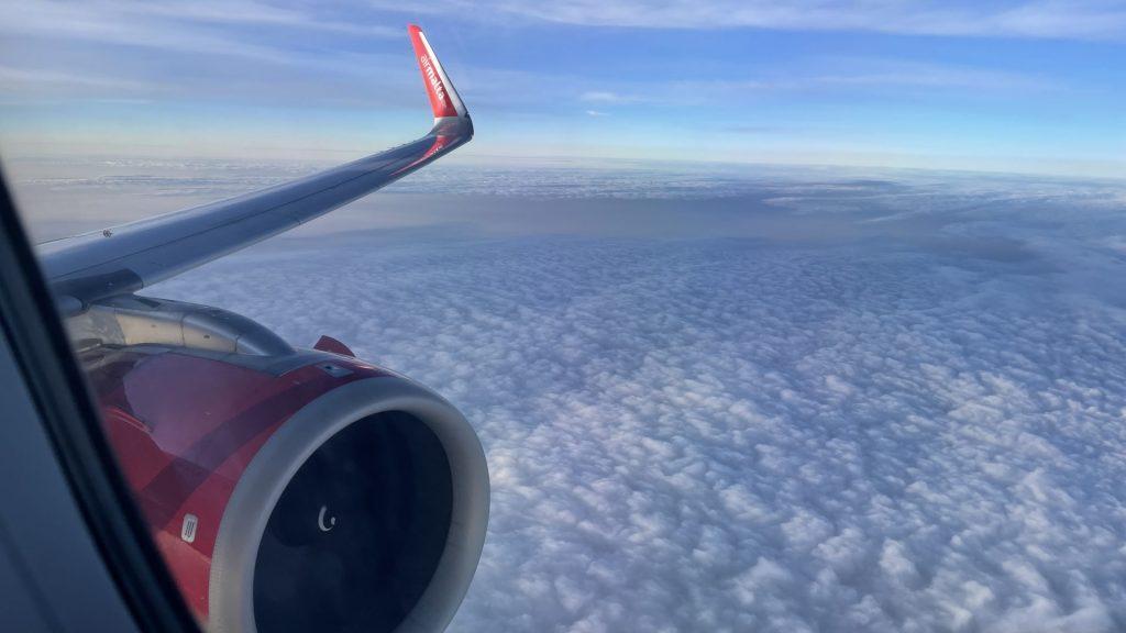 Air Malta von Düsseldorf in der Business Class