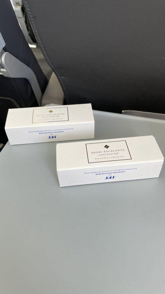 SAS Plus von Düsseldorf nach Kopenhagen