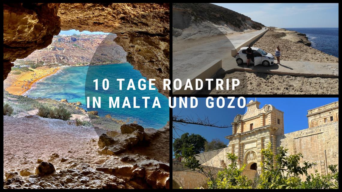 10 Tage Roadtrip in Malta und Gozo